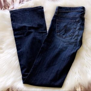 AG The Angelina Petite Bootcut Denim Jeans